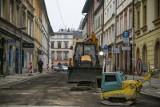 Kraków. Duży remont na ulicy Józefa. Zobacz, jak postępują tam prace [ZDJĘCIA]