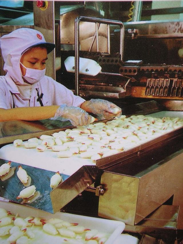 Tak wygląda praca w już istniejących zakładach zajmujących się obróbką owoców morza w Tajlandii.