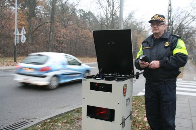 Straż miejska w Łodzi na razie dysponuje jednym przenośnym urządzeniem