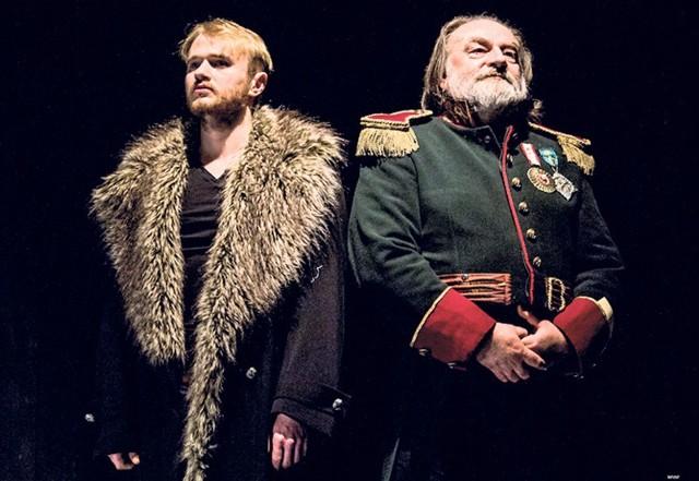 W widowisku poświęconym Tadeuszowi Kościuszce wystąpią m.in. Łukasz Gosławski (z lewej) i Wojciech Bartoszek