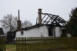Rupin: Tragiczny pożar. 69-letni mężczyzna zginął w płomieniach (zdjęcia)