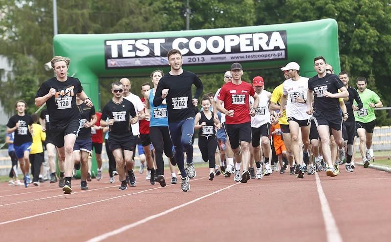 Test Coopera 2013 w Rzeszowie...