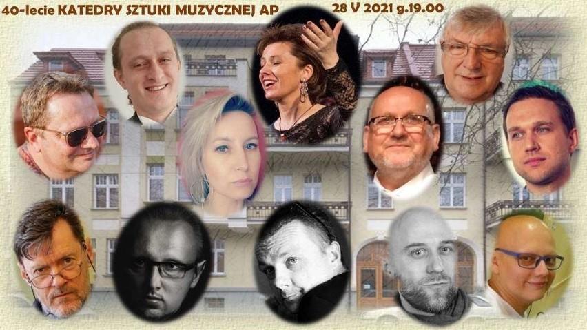 Soliści koncertu jubileuszowego Katedry Sztuki Muzycznej...