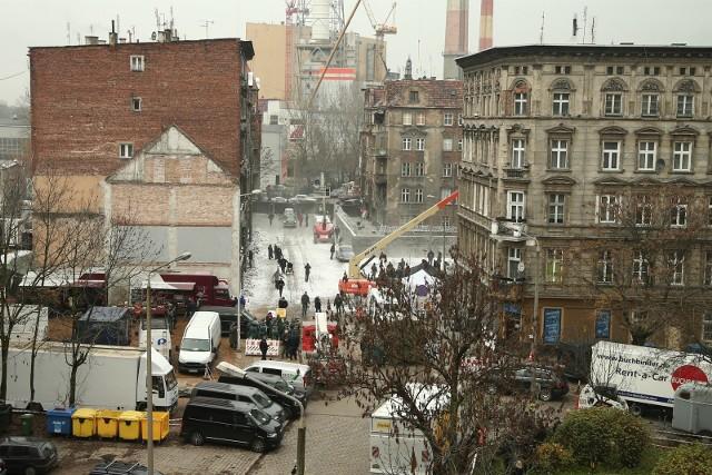 Ulica Kurkowa to jedno z ulubionych miejsc filmowców.