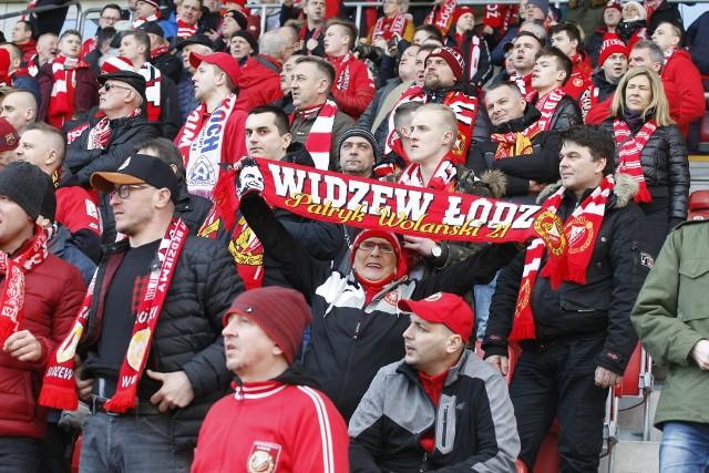 Kibice Widzewa stęsknili się już za atmosferą na swoim stadionie