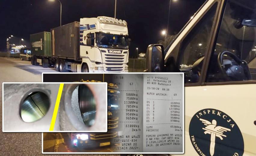 Inspektorzy Wojewódzkiego Inspektoratu Transportu Drogowego kontrolowali pojazdy na terenie naszego województwa. W trakcie tych działań ujawniono przewinienia przewoźników. Lista zastrzeżeń była długa. Więcej informacji w podpisach kolejnych zdjęć z kontroli inspektorów WITD >>>