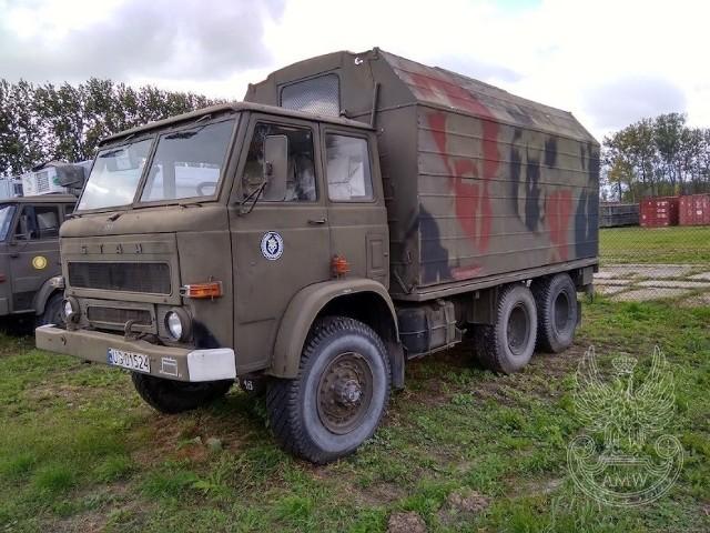 Star 266 to wciąż podstawa transportu kołowego (ciężarowego) w polskich siłach zbrojnych.