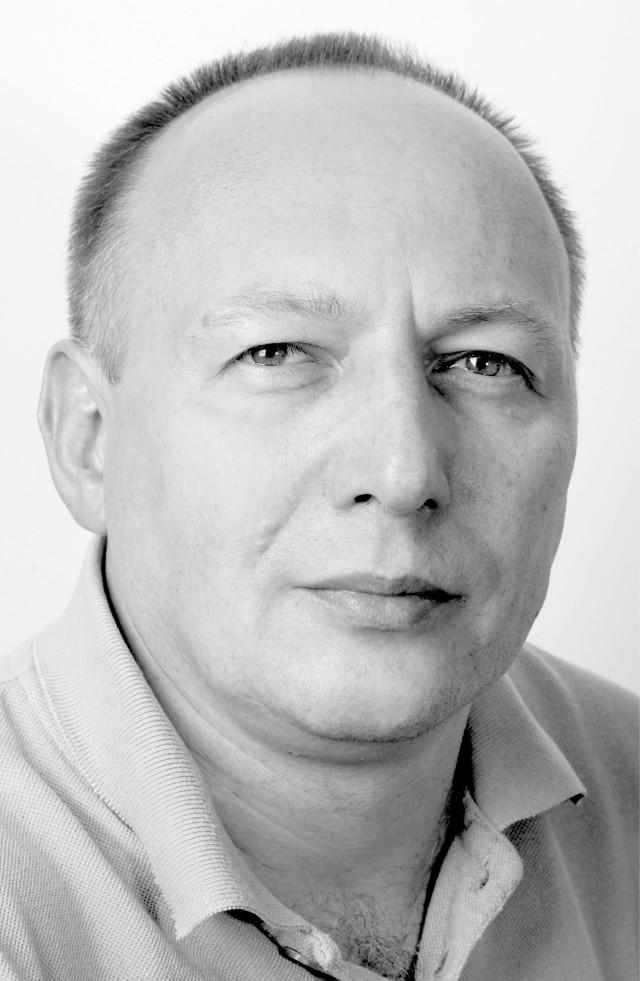 Wroclaw 16-10-2007 portrety dzienikarzy i redaktorow gazety wroclawskiej. na zdjeciu janusz michalczyk fot. pawel relikowski
