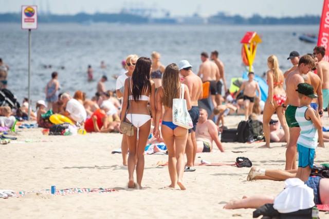 Temperatura wody w Bałtyku jest śródziemnomorska. Bałtyk gorący jak nigdy. Rekordowa temperatura wody w lipcu 2018. Uwaga na upały!