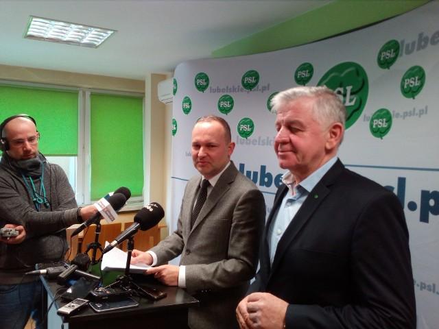 Krzysztof Hetman i Sławomir Sosnowski
