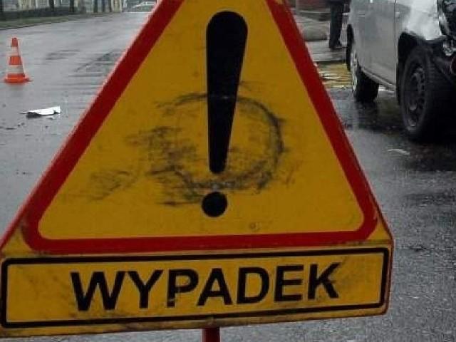 Potrącenie miało miejsce na lewym pasie ulicy Zwierzynieckiej