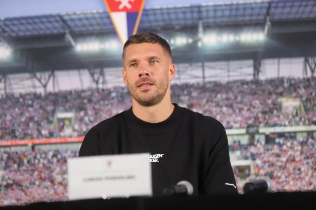 36-letni Łukasz Podolski od tego sezonu jest zawodnikiem Górnika Zabrze.