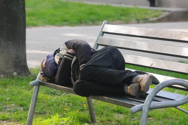 Bezdomni w Krakowie
