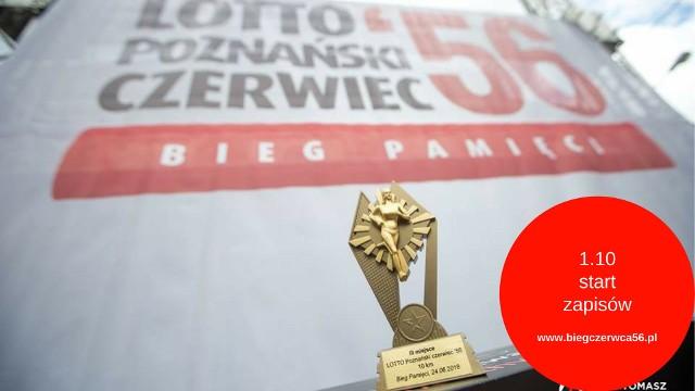 Do drugiej edycji biegu Lotto Poznański Czerwiec warto się zapisać już teraz, żeby ograniczyć koszty i mieć czas na spokojne przygotowanie się do przebiegnięcia dystansu 10 km