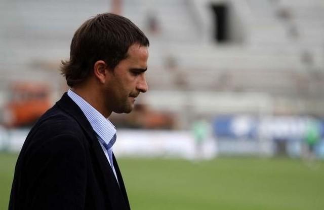 Trener Tomasz Kafarski.