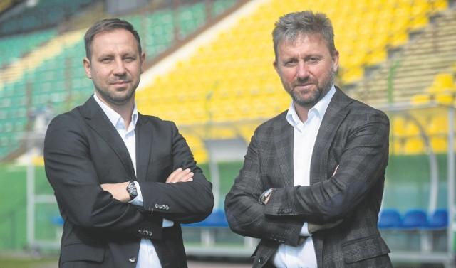 Dariusz Motała i Jerzy Brzęczek mają wprowadzić GKS  na właściwe tory, a potem do ekstraklasy