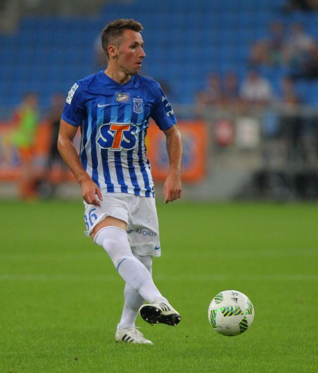 Radosław Majewski strzelił kapitalnego gola, miał duży udział przy obu bramkach dla lechitów