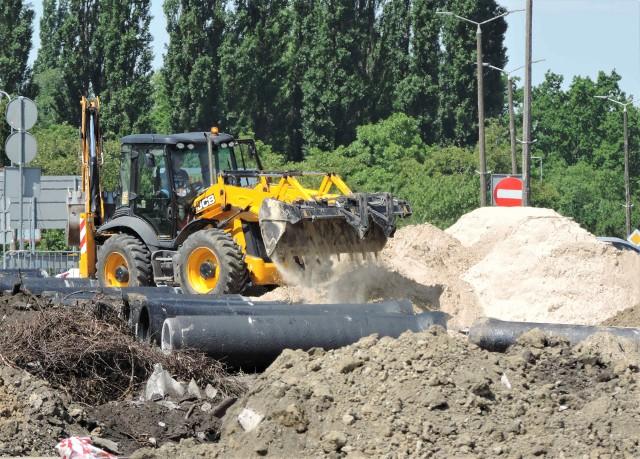 Trwa największa tegoroczna inwestycja drogowa na terenie Inowrocławia
