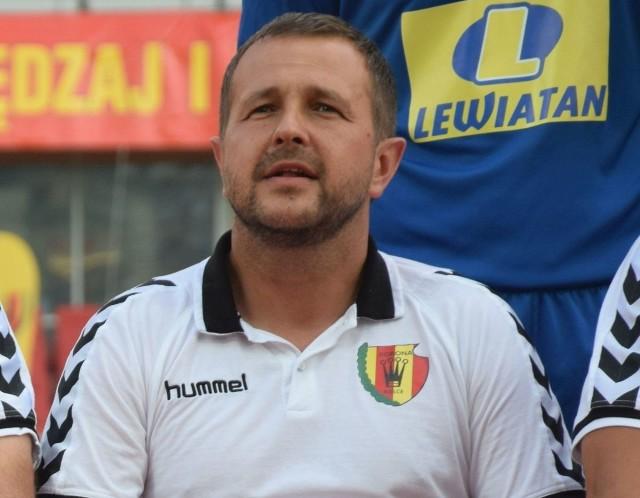 Trener Tomasz Wilman miał zastrzeżenia do postawy zawodników w tym spotkaniu, szczególnie w drugiej połowie.