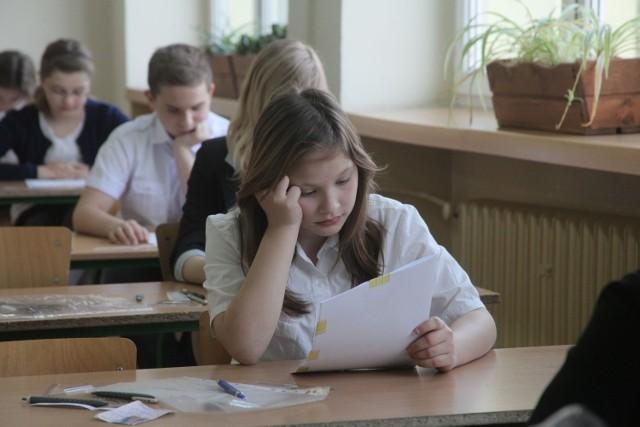 Swój pierwszy państwowy egzamin zdawali m.in. uczniowie Szkoły Podstawowej nr 34 w Łodzi