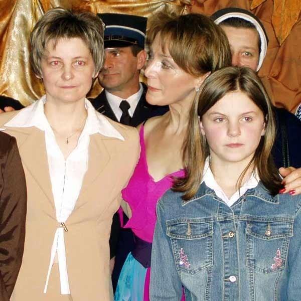 Na koncercie nie mogło oczywiście zabraknąć  Elżbiety Maziarz (z lewej), obok niej córka i Irena Jarocka.