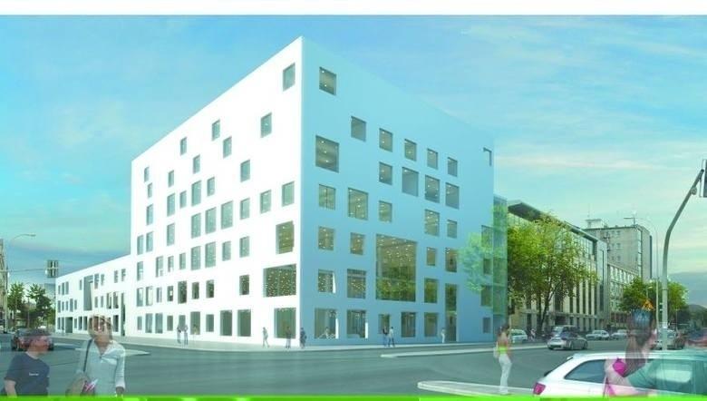 Tak wygląda projekt budynku Książnicy Podlaskiej, który miał...