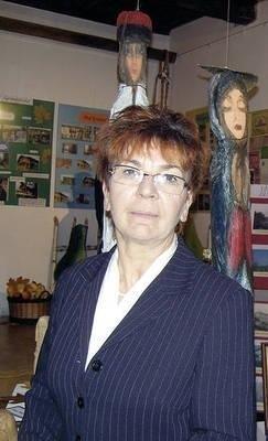 Teresa Nalepa, dyrektorka MBP w Myślenicach Fot. Maciej Hołuj