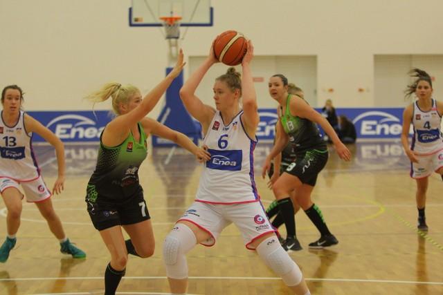 Daria Marciniak w ostatnim ligowym meczu zdobyła dla Enei AZS aż 32 punkty