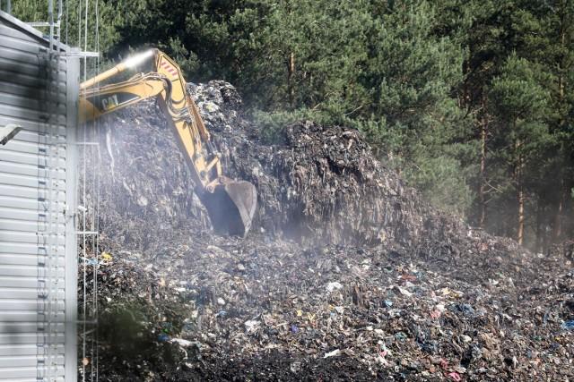 Pożar wysypiska śmieci w 2018 roku