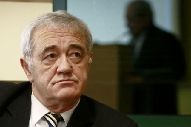Marek Minda podczas obrad sejmiku