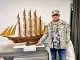 Znany twórca wykona model helskiej latarni z bursztynu. Zbliża się kolejny rekord Guinnessa
