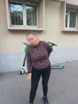 Poznań: Policjanci zatrzymali kobietę, która zaatakowała ciężarną z dzieckiem na ul. Głogowskiej. Śledztwo będzie wszczęte z urzędu
