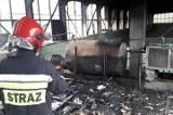 Pożar w fabryce z tkaninami w Jędrzejowie! Zapalił się olej. Było groźnie (ZDJĘCIA)