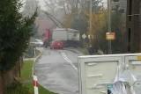 Wypadek pod Strzelinem. Tir przewożący buraki wypadł z drogi [FOTO]