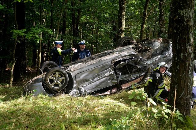 W wypadku między Iłowem a Sypniewem poszkodowane zostały dwie osoby