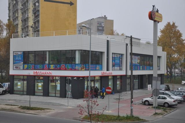 Drogeria Rossmann mieścić się będzie w drugim pawilonie Centrum Herby w Kielcach.