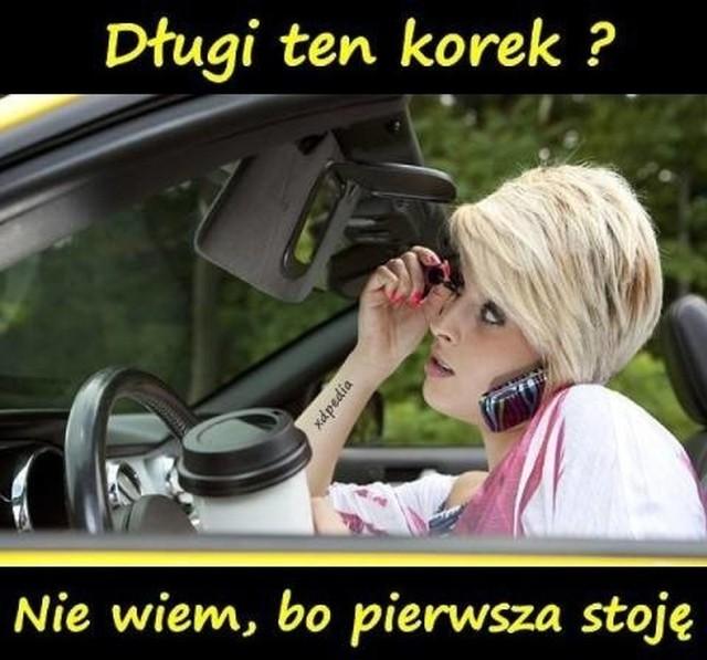 Śmieszne sytuacje na drogach i wyobrażenia Internautów na temat kierowców samochodów osobowych