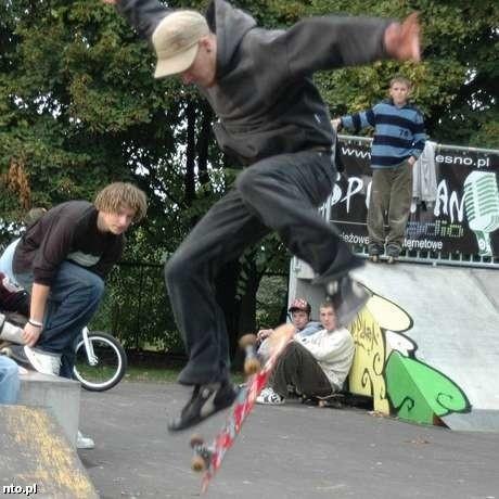 Skatepark w Oleśnie.