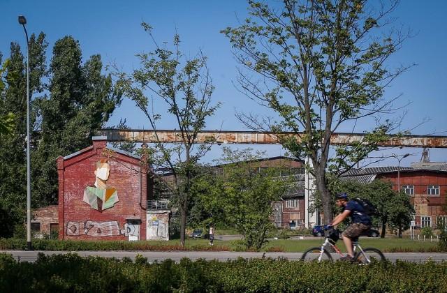 Nietypowy mural pojawił się na terenie Młodego Miasta w Gdańsku