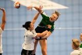 Debiut wychowanki Korony Handball Kielce Dominiki Więckowskiej w europejskich pucharach. Zdobyła cztery bramki [ZDJĘCIA]