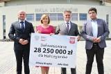 Ministerstwo Kultury, Dziedzictwa Narodowego i Sportu przekazało ponad 28 milionów na rozbudowę Hali Legionów w Kielcach [ZAPIS TRANSMISJI]