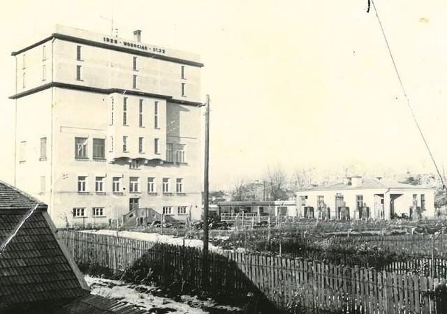 Druga wieża ciśnień zbudowana w latach 1929-1932 według projektu inż. Edmunda Kusmera (zdjęcie ze zbiorów Wodociągów Białostockich sp. z o. o.)