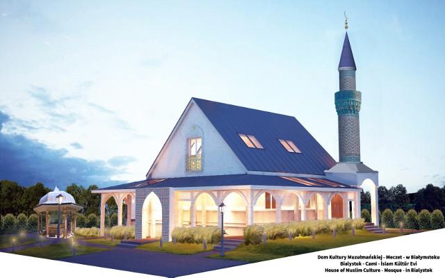 Tak ma wyglądać dom kultury muzułmańskiej po przebudowie.