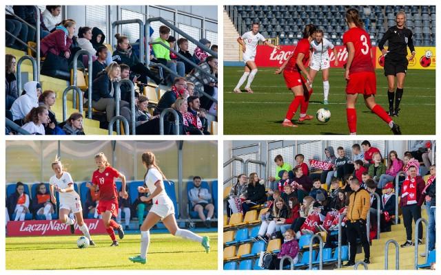 Polski wygrały z Angielkami 2:0 w ostatni meczu eliminacji mistrzostw Europu U-17.Aby zobaczyć zdjęcia kibiców oraz z meczu przesuń gestem lub strzałką w prawo>>>