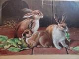 Tak się przed stu laty składało życzenia wielkanocne. Nie tylko króliczki i baranki. Także piękne kobiety na świątecznych kartkach
