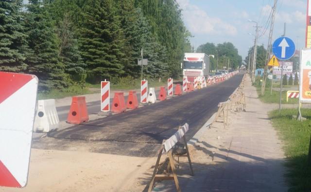 Zdjęcia z przebudowy ulicy Nurskiej