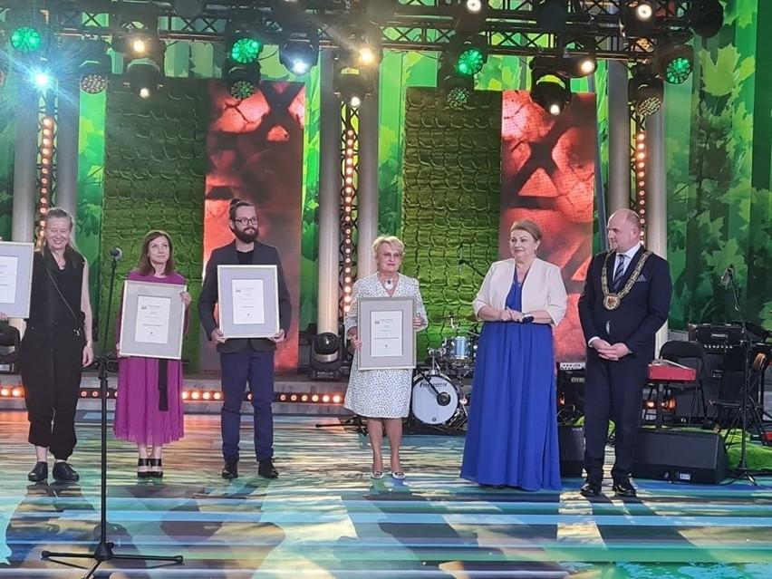 Nagrody zostały wręczone w amfiteatrze Muzeum...