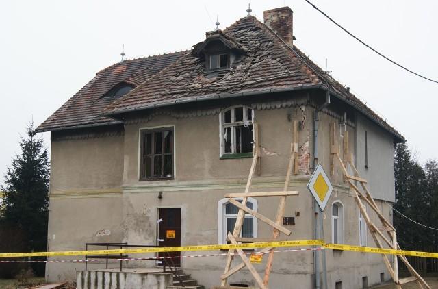 Do eksplozji gazu doszło w niedzielę w piętrowej kamienicy przy ul. Wrocławskiej w Grodkowie.