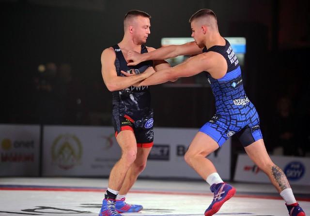 Krajowa Liga Zapaśnicza. AKS Piotrków wygrał z Grunwaldem Poznań 36:0!