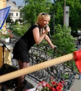 Aktorka Adrianna Biedrzyńska topless na wakacjach!